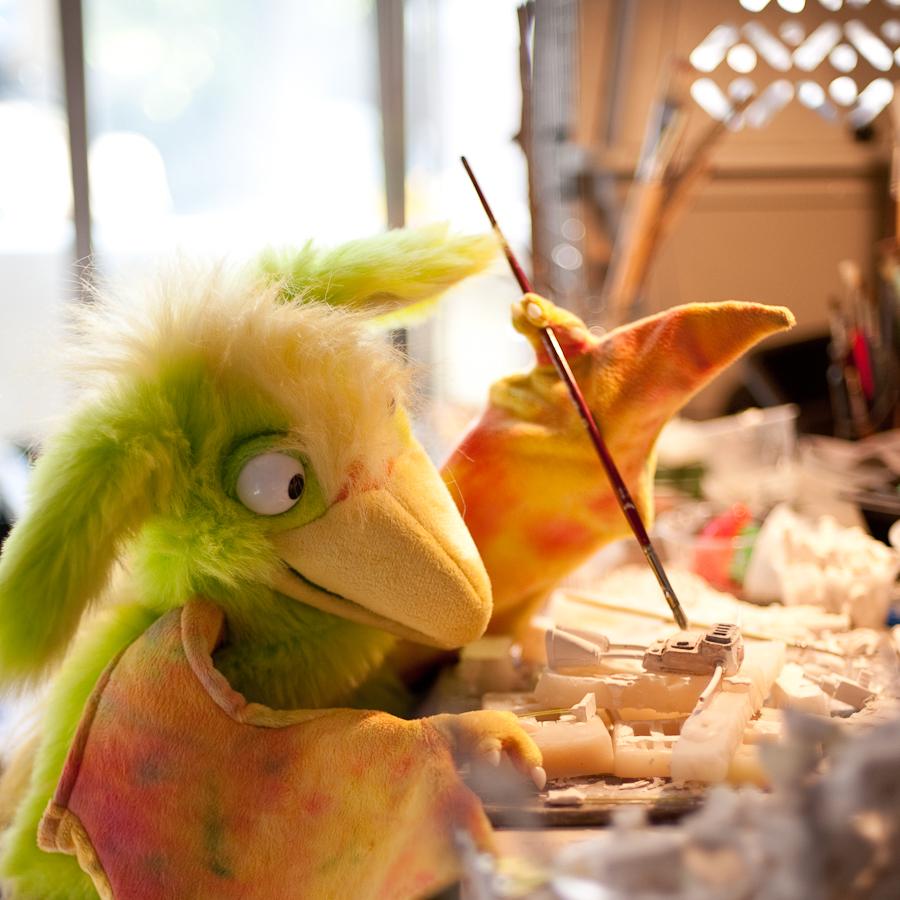 Twickety Bird Monster